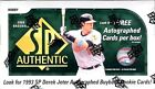 2009 UPPER DECK SP AUTHENTIC BASEBALL HOBBY BOX NEW From SEALED MASTER CASE RARE