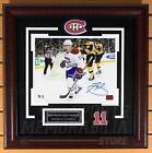 Brendan Gallagher Montreal Canadiens Signed Autographed Celebration 8x10 Framed