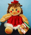 (LOT OF 2) RARE 2002 DANDEE SCENTED GIRL PLUSH GINGERBREAD DOLL