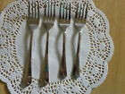 Cambridge forks Krysten pattern,   2 dinner forks and 2 salad forks stainless