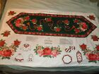 New 2 Panels Hallmark Fabric Sewing Holiday Christmas Applique Material Crafts