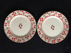 Two Majestic Ware by Oneida Cherries Jubilee 7.5