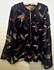 Rare Authentic Antique Japanese Embroidered Silk Jacket