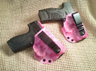 GUNNERs CUSTOM HOLSTERS IWB Concealment Pink Blue or Tiger Stripe digi
