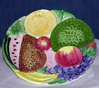 Fruit Plate  Hand Painted San Francisco  Takahashi Charger  Decorative Clean 9¼