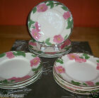 Set 4 Vtg Franciscan Desert Rose 8