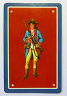 SWAP CARD. AMERICAN REVOLUTIONARY SOLDIER IN UNIFORM. MINT COND. WHITMAN