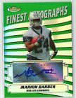 F134 2005 Topps Finest Autographs FA-MB Marion Barber Rookie