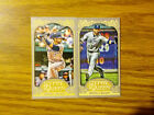 Lot of 2 Jose Bautista 2012 Topps Gypsy Queen Mini Card #110 Image Variation
