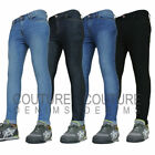 Stretch Spray On Fit Skin Super Tight Mens Denim Jeans Skinny Pants Thin Trouser