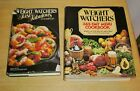 LOT OF 2 WEIGHT WATCHERS HARDCOVER COOKBOOKS