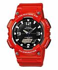 CASIO AQ-S810WC-4AVCF NEW SOLAR POWERED WORLD TIME 5 ALARMS POWER SAVING WATCH