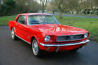 1966 Ford Mustang 289 Auto Coupe Red Stefanie