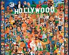 White Mountain Puzzles Hollywood - 1000 Piece Jigsaw Puzzle, New, Free Shipping