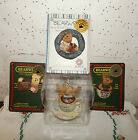 VINTAGE TEABEARIES HAPPY BIRTHDAY BEAR & 3 BEARWEAR BROOCHES COLLECTION~04~05~07