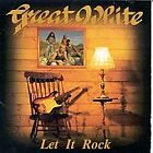 Great White LET IT ROCK 1996 CD SEALED! - No Reserve! ***DEAD MINT***  RARE/OOP!