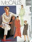 McCall's 3047 Kurta Tunic top Caftan Dress pull-on pants pattern 18W-24W 36-42