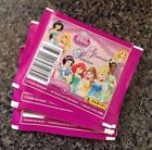 Lot of 25 Panini Disney Glamour Princess Stickers Packs - New And Unopened