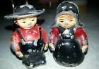 Amish cast iron salt and pepper shakers