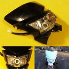 Black Dirt Bike Motorcycle Headlight Fairing Enduro Cross Dual Sport Dirtbike