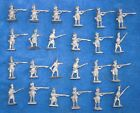 Vintage lead soldiers Britain Hinchliffe, Napoloenic? unpainted. 48 off,