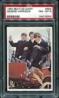PSA 8 1964 The Beatles Diary #56a George Harrison Paul McCartney Rock Band Card