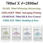 Collagen & Pearl & Charcoal & Cool-Ice Powder Masque Anti-aging Whitening Pore