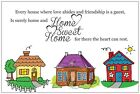 20 HOUSE Warming Home Sweet Home Houses INVITATIONS Post Cards POSTCARDS