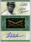 RICKEY HENDERSON 2012 PLAYOFF PRIME CUTS ICONS AUTO 4 10 AUTOGRAPH RARE