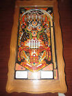 Coffee Table with Bally KISS pinball playfield UNIQUE!
