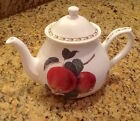 Queens Fine Bone China TEAPOT Hooker Fruit  Royal Horticulture Society