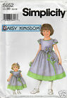Daisy Kingdom SZ BB UNCUT Pattern 5 6 7 8 Child & Doll Dress 5652 Simplicity