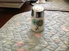 CORNING CORELLE - VINTAGE BLUE & GREEN FLOWER PEPPER SHAKER