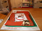 NIP-DAISY KINGDOM IRON ON TRANSFER-THE SATURDAY EVENING POST-MERRY CHRISTMAS