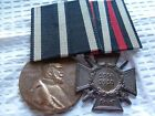 +++ MEGA RARE GERMAN SOLDIER MEDAL BAR VET ESTATE SALE WW2 WW1 WWI WWII PA-00498