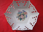 APULUM Fine Porcelain Bowl Decoration Gold Trim With Flowers