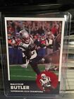 2015 Superbowl Malcolm Butler New England Patriots Custom Football Rookie Card