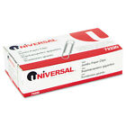 Smooth Paper Clips Wire Jumbo Silver 100 Box