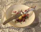 Vintage Coalport Dish for Cavier etc. with Knife Fine Bone China Made in England