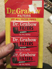 Vintage Dr Grabow Pipe Filters 30 brand new vintage filters