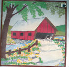 Charming COVERED BRIDGE Crewel Embroidery Kit