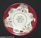 UCAGCO Saucer Japan Hand Painted Magenta MultiColor Floral Tea Cup Saucer Plate