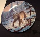 Lee Cable THE LYNX Collector Plate GREAT CATS OF THE AMERICAS #3