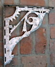 SET Cast Iron Shelf Bracket Corbel Pair Shabby Art Deco Vintage Ornate (2)