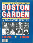 History of Boston Garden 1928-1988 Diamond Jubilee 80-pgs of Events, Memories