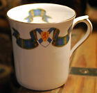 NOVA SCOTIA TARTAN Vintage ROSINA Fine Bone China England MUG Gold Trim