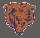 Chicago Bears Rhinestone Transfer Bling Iron On Wholesale Available