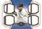 2012 Topps Museum Collection Robinson Cano NY Yankees Quad Game-Worn Relic 20 25