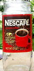 vintage 1970s Nestle NESCAFE glass coffee jar RETRO FOOD PACKAGING rare product
