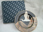 Fitz and Floyd Night Flight Porcelain Salad Plate Flying Crane NICE in Box